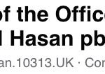 Agency of the Office of Syed Ahmed al Hasan pbuh in UK