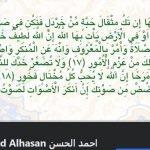 صحفة السيد أحمد الحسن على الفيسبوك